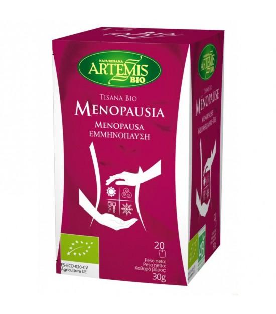 Tisana mujer menopausia (20 filtros) ARTEMIS BIO