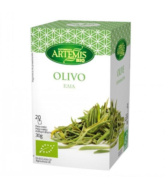 Infusion olivo (20 filtros) ARTEMIS 30 gr