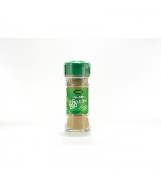 Pimienta blanca molida especias ARTEMIS 40 gr BIO