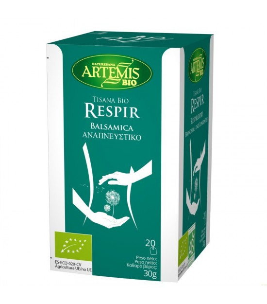 Tisana respir t (20 filtros) ARTEMIS BIO