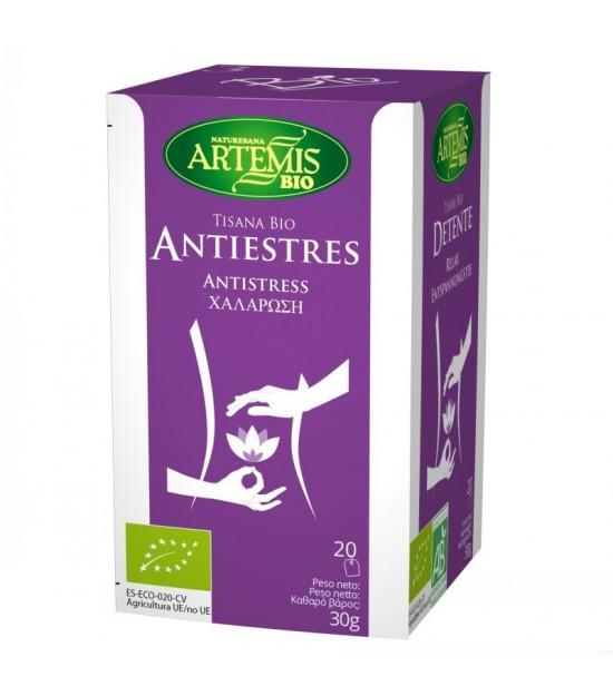 Tisana antiestres t (20 filtros) (relax) ARTEMIS BIO