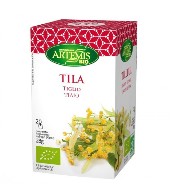 Infusion tila (20 filtros) ARTEMIS 28 gr