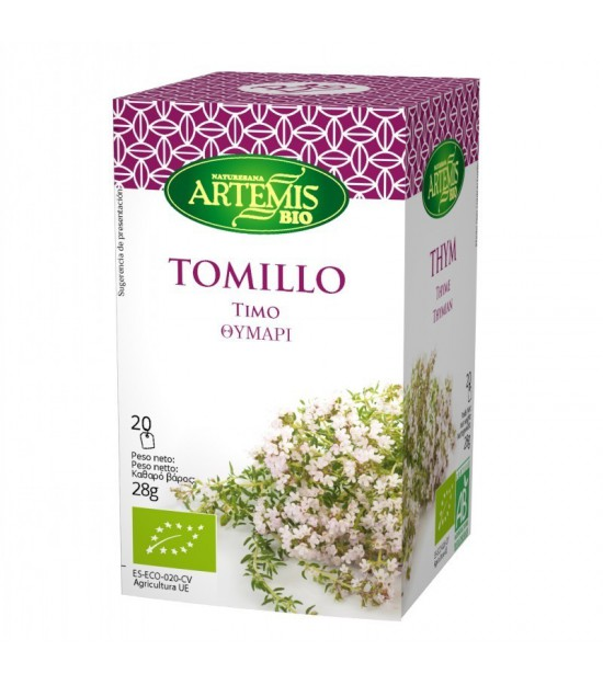 Infusion tomillo (20 filtros) ARTEMIS 30 gr