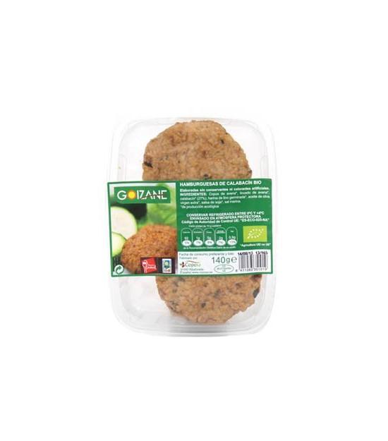 Hamburguesa calabacin GOIZANE 140 gr