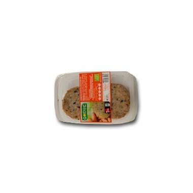 Hamburguesa zanahoria GOIZANE 140 gr