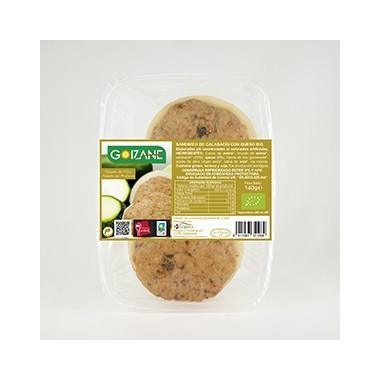 Sandwich calabacin queso GOIZANE 140 gr