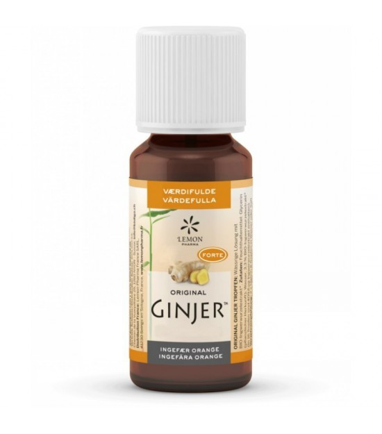 Ginjer gotas LEMON PHARMA 20 ml BIO