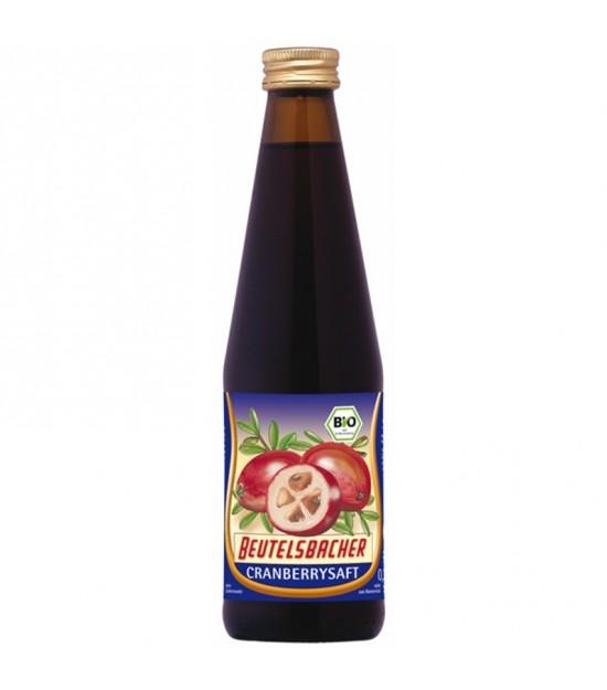 Zumo arandano rojo americano BEUTELBACH 330 ml
