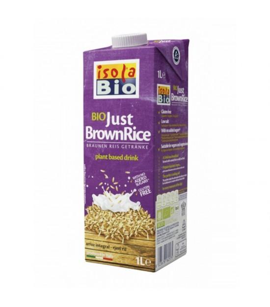 Bebida arroz integral ISOLA BIO 1 L