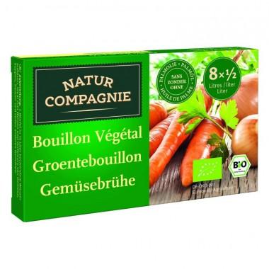 Cubitos verdura caldo NATUR COMPAGNE 8X11 gr BIO