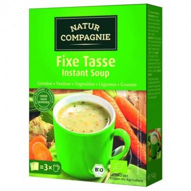 Sopa instantanea verduras NATUR COMPAGNE 3x18 gr BIO