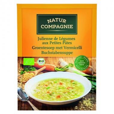 Sopa juliana verduras con pasta NATUR COMPAGNE 50 gr BIO