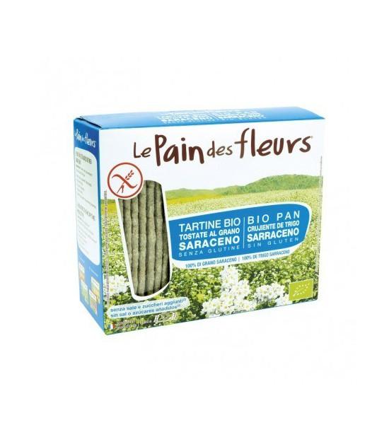 PAN FLORES sin sal y sin azucar trigo sarraceno BIO