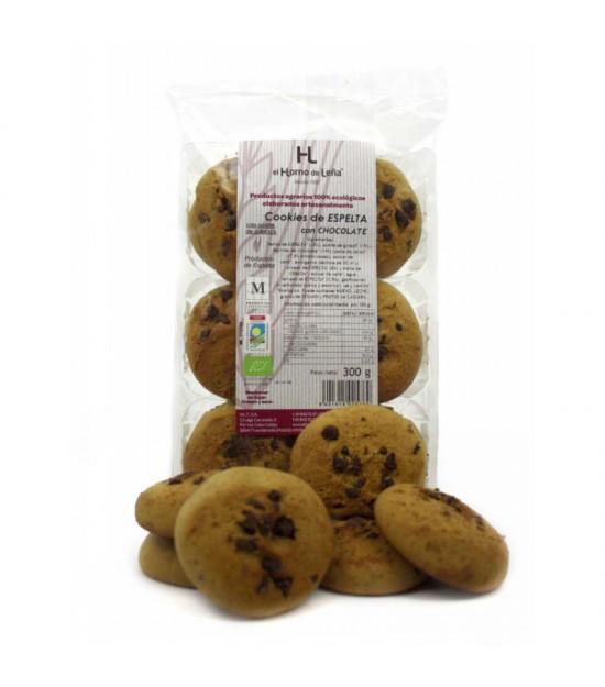 Cookies espelta choco ecologico s/p HORNO DE LEÑA 220 gr BIO