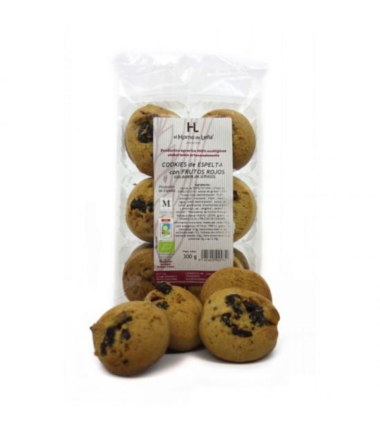Cookies espelta frutos rojos s/p HORNO DE LEÑA 220 gr BIO