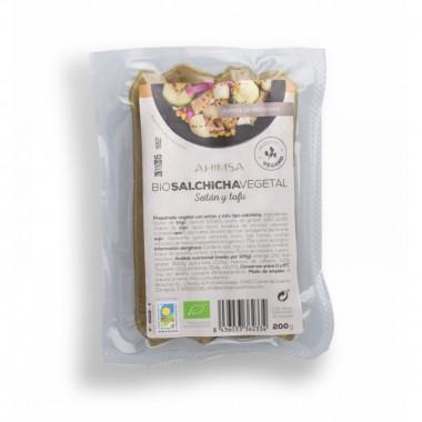 Salchicha tofu seitan AHIMSA 200 gr BIO