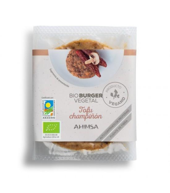Hamburguesa tofu champiñon AHIMSA 160 gr BIO