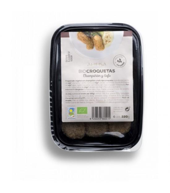 Croquetas tofu champiñon AHIMSA 200 gr BIO