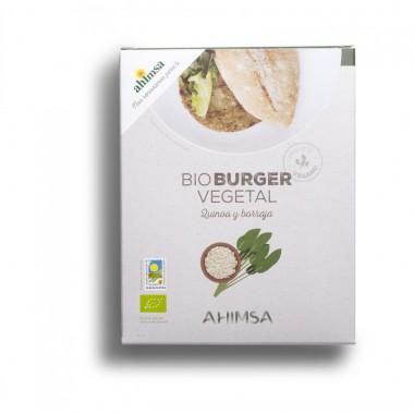Hamburguesa quinoa borraja AHIMSA 150 gr LD BIO