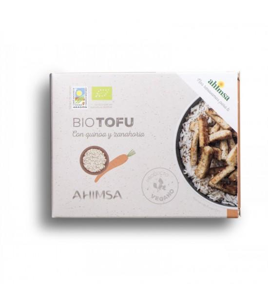 Tofu quinoa zanahoria AHIMSA 230 gr BIO
