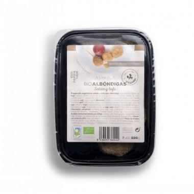 Albondigas tofu seitan AHIMSA 220 gr BIO
