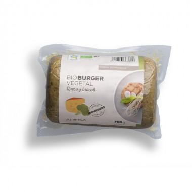 Hamburguesa queso brocoli AHIMSA 750 gr BIO