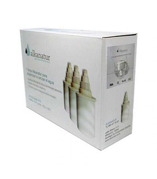 Pack 3 filtros ALKANATUR