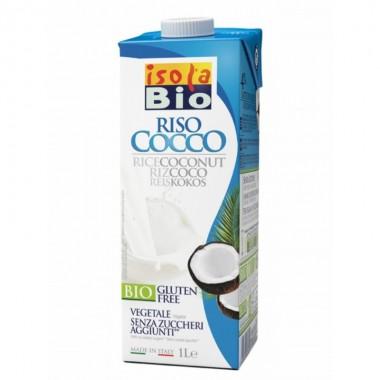 Bebida arroz coco ISOLA BIO 1 L