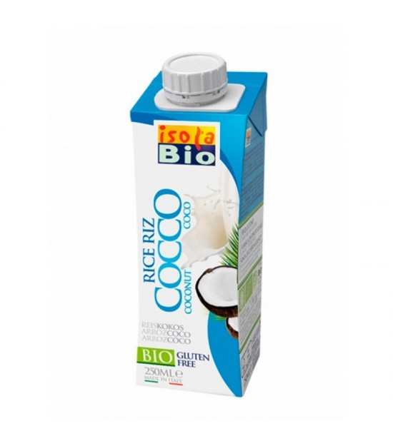 Bebida arroz coco ISOLA BIO 250 ml