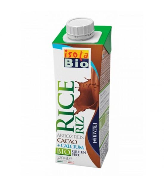 Bebida arroz calcio cacao ISOLA BIO 250 ml