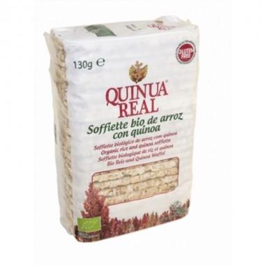 Tortitas finas Soffiette arroz con QUINUA REAL 130 gr BIO