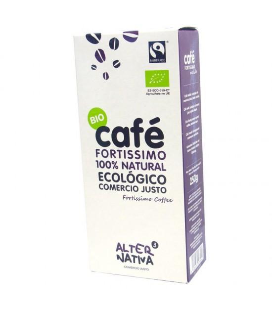 Cafe fortissimo molido ALTERNATIVA 3 (250 gr) BIO