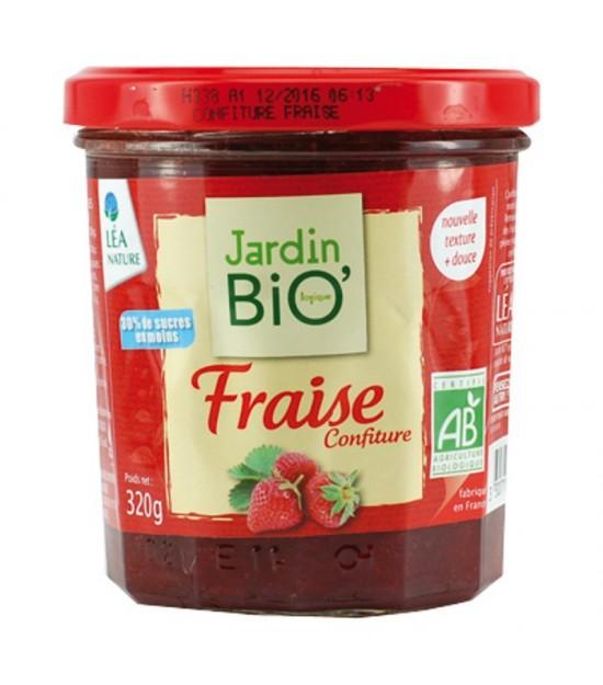 Mermelada fresa JARDIN BIO 320 gr