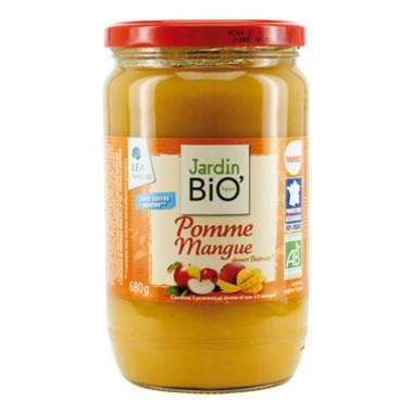 Crema manzana mango sin azucar JARDIN BIO 680 gr