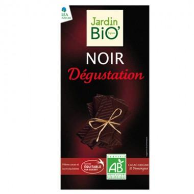 Chocolate negro 70% cacao degustacion JARDIN BIO 100 gr