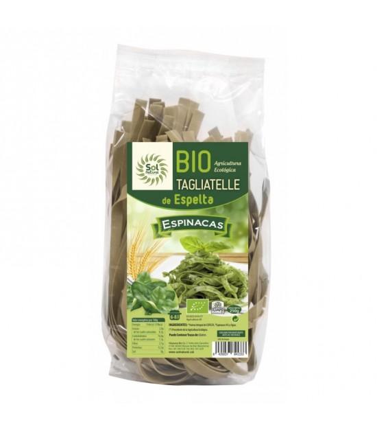 Tagliatelle espelta espinacas SOL NATURAL 250 gr BIO