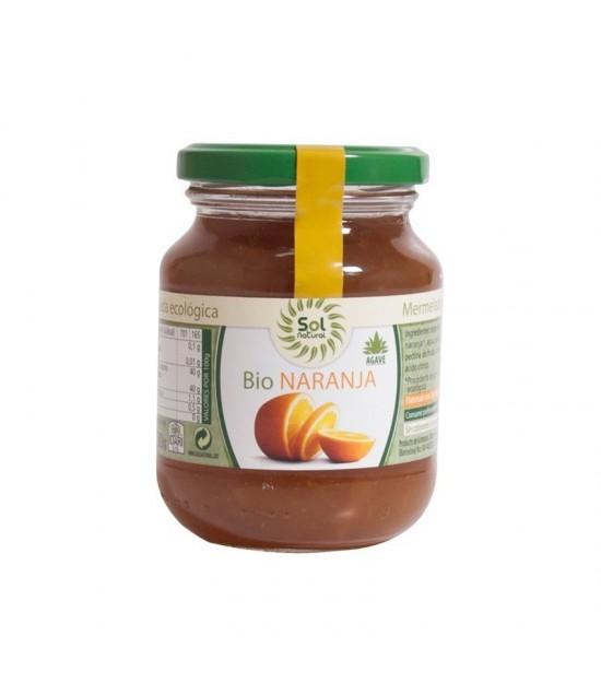 Mermelada naranja agave SOL NATURAL 330 gr BIO