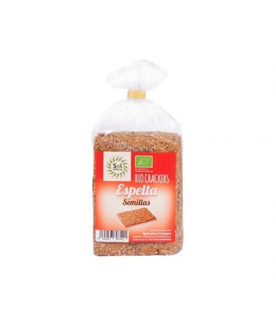 Cracker espelta semillas SOL NATURAL 200 gr BIO