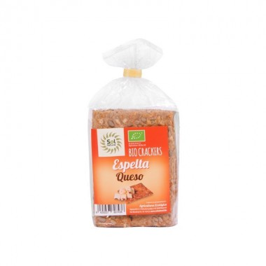 Cracker espelta con queso SOL NATURAL 200 gr BIO
