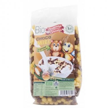 Cereales bolitas choco miel SOL NATURAL 250 gr BIO