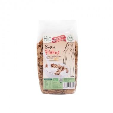 Cereales Bran flakes con salvado SOL NATURAL 225 gr BIO