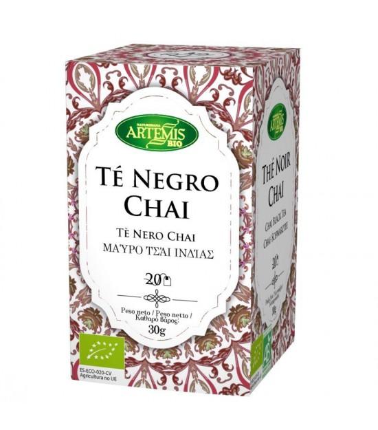 Infusion te negro chai (20 filtros) ARTEMIS 30 gr