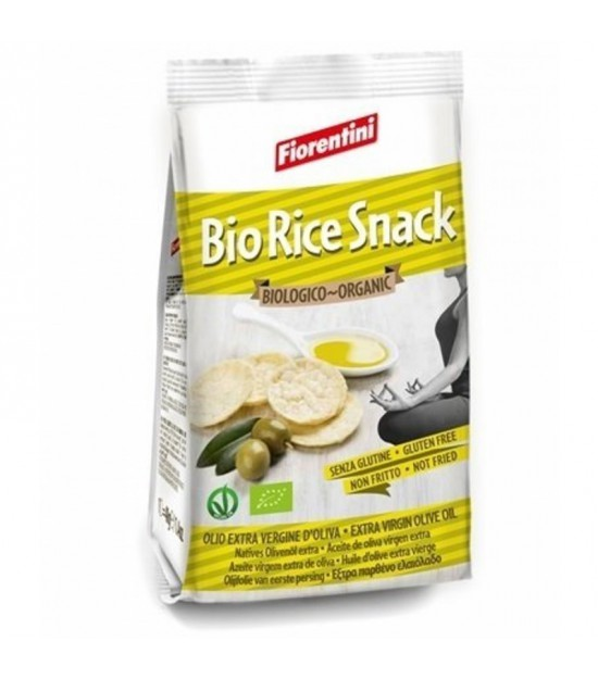Snack arroz aceite oliva FIORENTINI 40 gr BIO