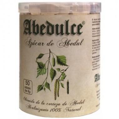 Azucar abedul sticks ABEDULCE 50x7,5 gr