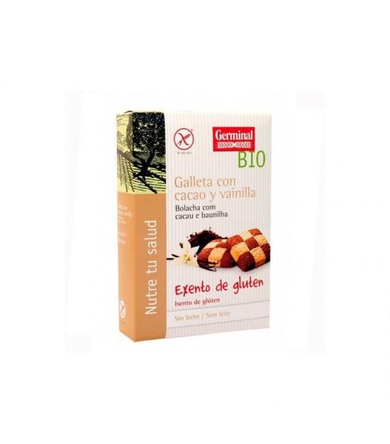Galletas cacao vainilla sin gluten GERMINAL 250 gr BIO