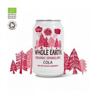 Refresco cola sin azucar WHOLE EARTH 330 ml BIO