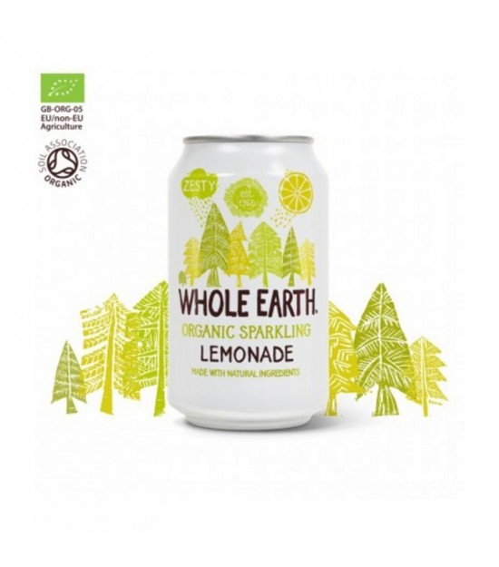 Refresco limon WHOLE EARTH sin azucar 330 ml BIO