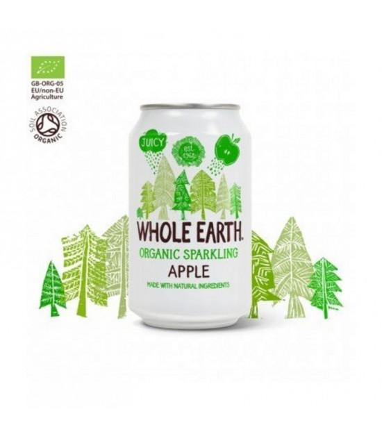 Refresco manzana sin azucar WHOLE EARTH 330 ml BIO