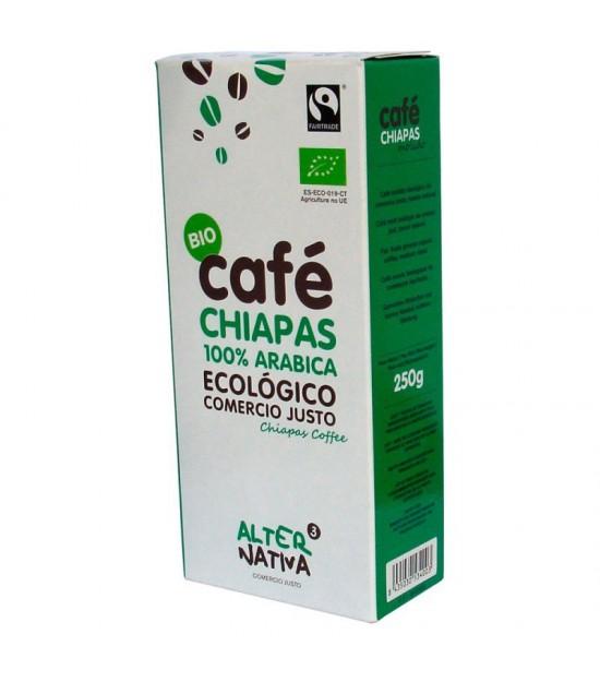 Cafe chiapas molido ALTERNATIVA 3 (250 gr) BIO