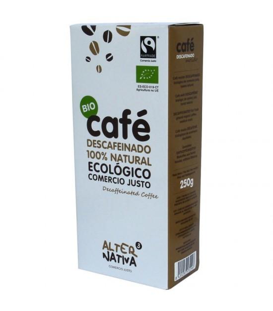Cafe descafeinado molido ALTERNATIVA 3 (250 gr) BIO